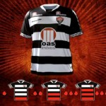 EC Vitória's red and black-striped jerseys 16