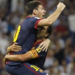 Lionel Messi, Xavi Hernandez
