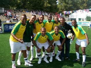 South Africa Homeless World Cup Team