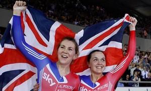 Jess Varnish and Victoria Pendleton