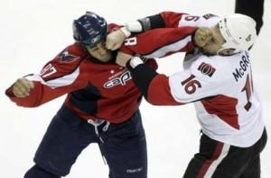 hocke fighting