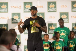 City Of Akron Celebrates The Return of Lebron James
