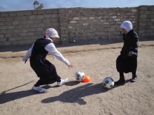 Girls in Iraq