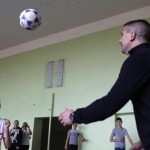 UKRAINE-RUSSIA-CROATIA-CONFLICT-FOOTBALL-CHILDREN