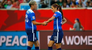 Alex Morgan Wambach