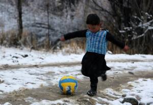 TOPSHOT-AFGHANISTAN-SPORT-FOOTBALL-SOCIAL