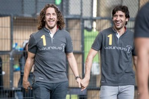 Puyol and Raul