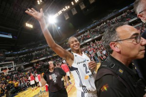 Minnesota Lynx v Indiana Fever- 2015 WNBA Finals- Game Four