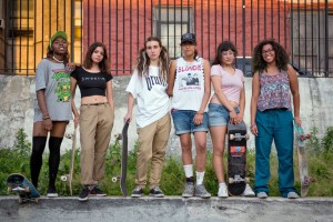 Female skaters