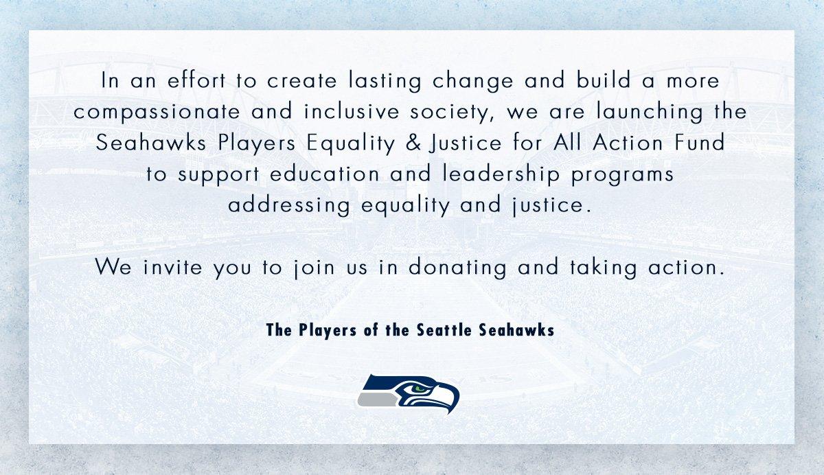 Seahawks pledge