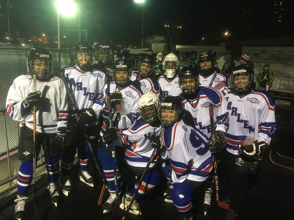 Ice hockey Harlem